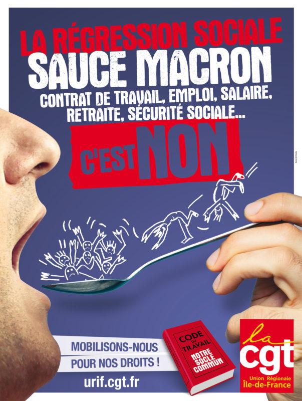 sauce Macron c'est non