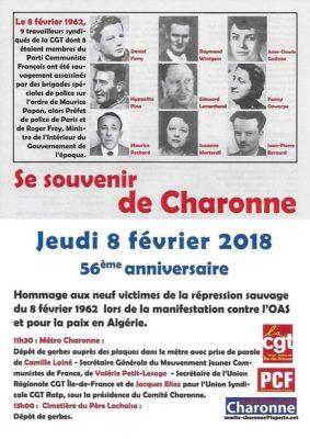 Commemoration Metro Charonne