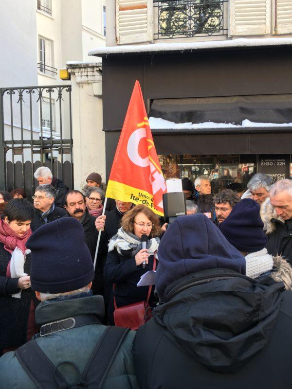 56 éme commemoration Metro Charonne