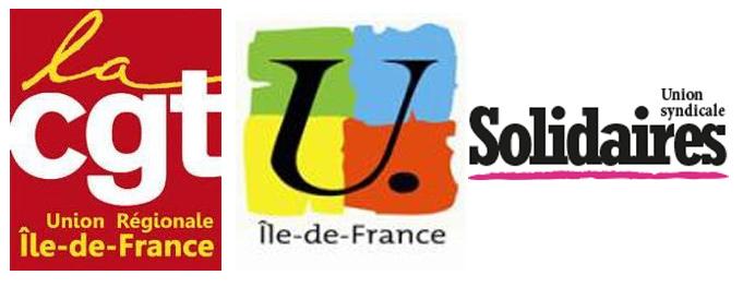 logo cgt urif fsu solidaires
