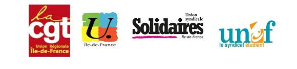 CGT, FSU, Solidaires, UNEF