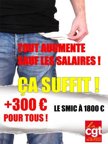 affiche salaire