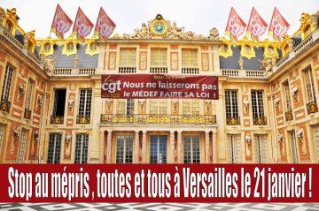 appel tous à Versailles le 21 janvier