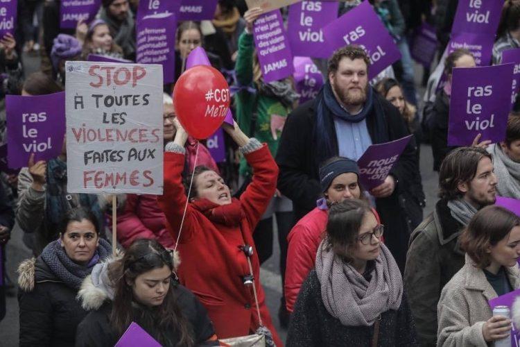marche contre les violences séxistes et sexuelles